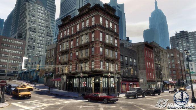Шумные улицы в GTA 4