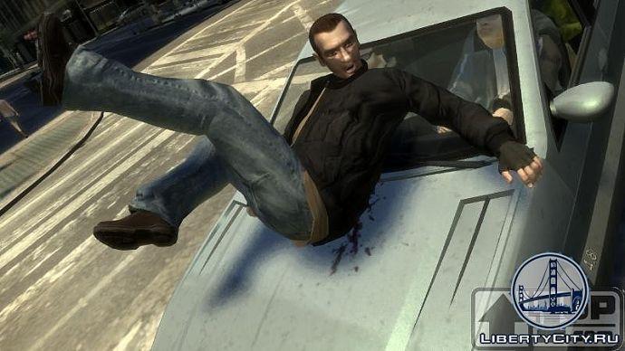 Несчастный случай в GTA 4