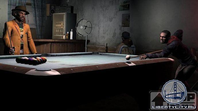 Бильярд в GTA 4