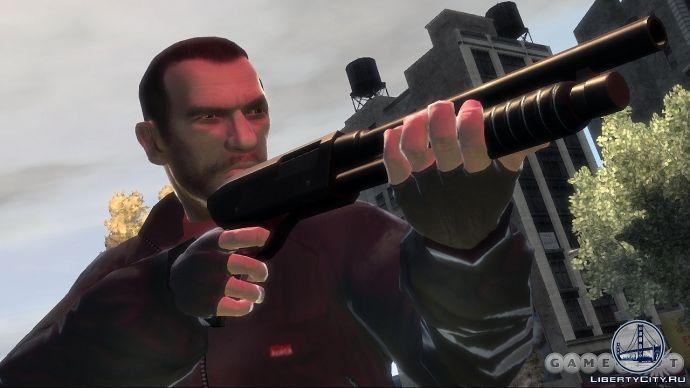 Дробовик в GTA 4