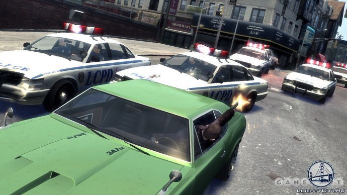 Облава в GTA 4