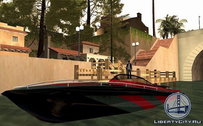 Лодка в GTA SA