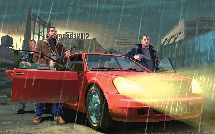 Ребята из GTA 4