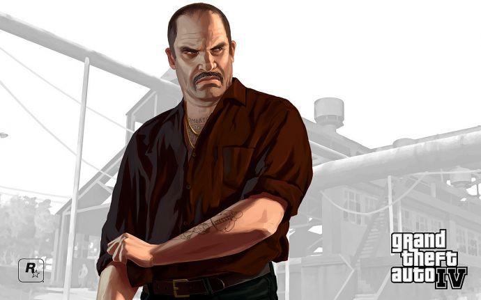 Персонаж GTA 4 (арт)