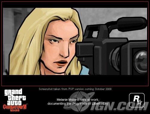 Журналистка из GTA CTW