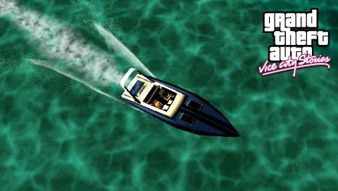 Лодки в GTA VCS