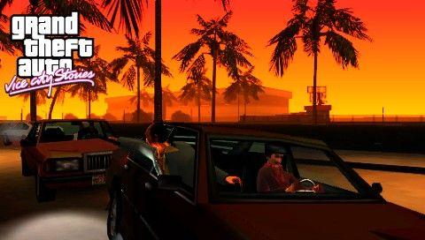 Погоня в GTA VCS