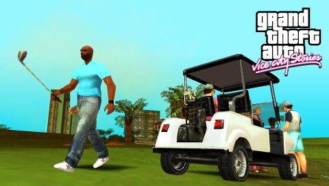 Гольф в GTA VCS