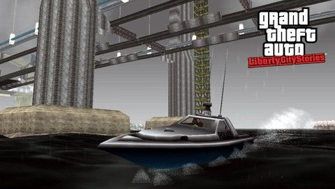 Лодки в GTA LCS