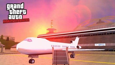 Самолет в GTA LCS