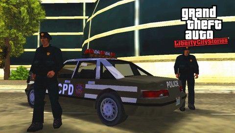 Копы в GTA LCS
