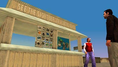 Магазины в GTA LCS