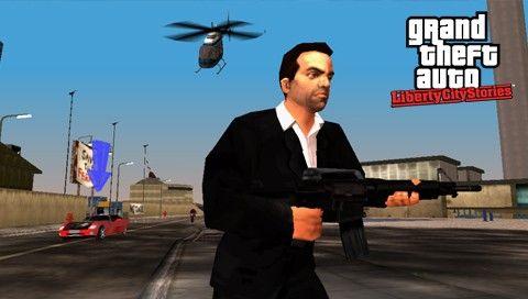 Тони убегает от вертолета