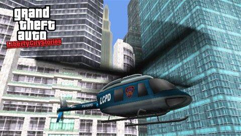 Вертолет в GTA LCS