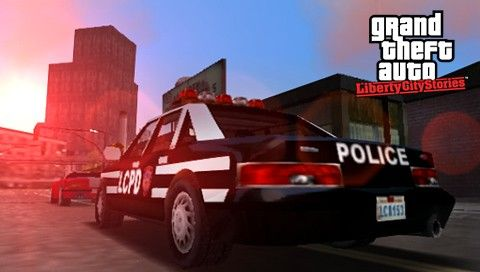 Полиция в GTA LCS