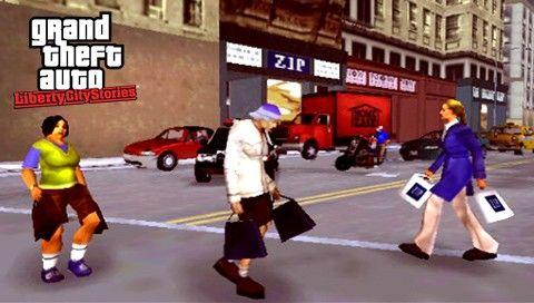 Пешеходы в GTA LCS