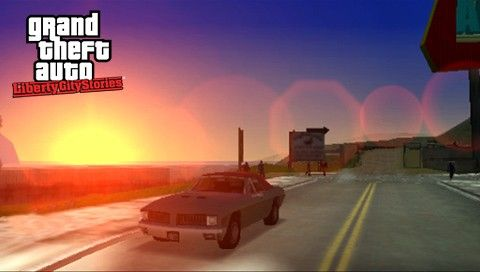 Закат в GTA LCS