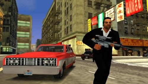 Снайперка в GTA LCS