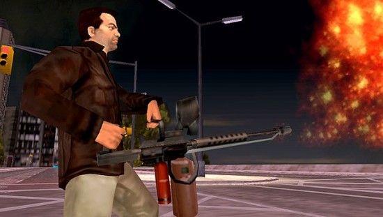 Огнемет в GTA LCS