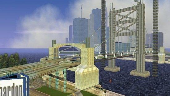 Мост в GTA LCS
