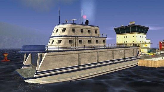 Корабль в GTA LCS