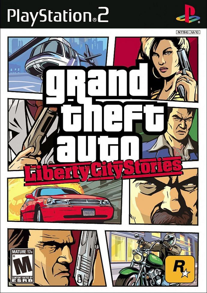 Боксарт GTA LCS для PS2