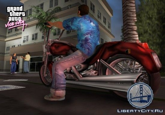 Мотоциклы в GTA Vice City