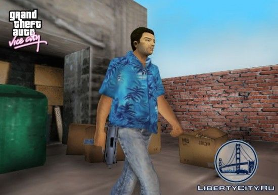Узи в GTA Vice City