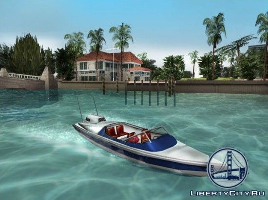 Лодка в GTA Vice City