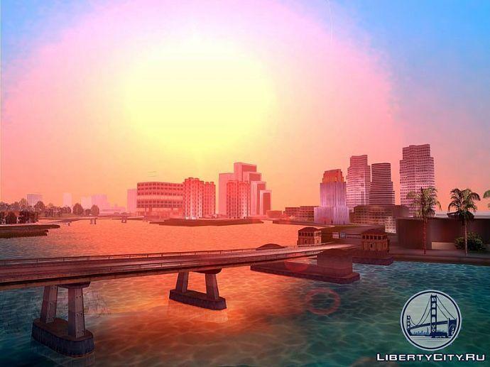 Мост в GTA Vice City