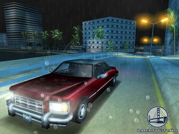 Дождь в GTA Vice City