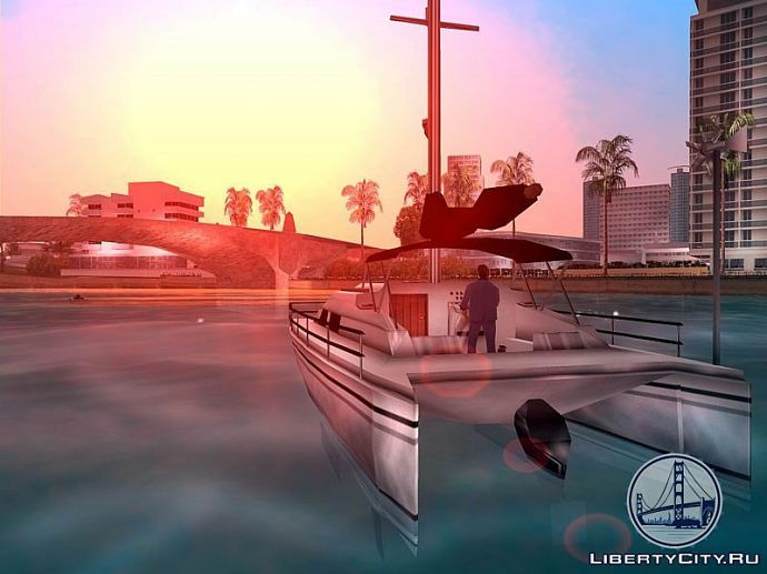 Закат в GTA Vice City