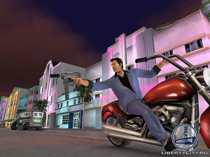 TEC-9 в GTA Vice City
