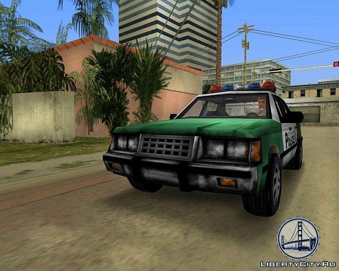 Полиция в GTA VIce City
