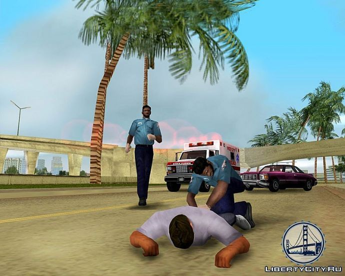 Медики в GTA Vice City