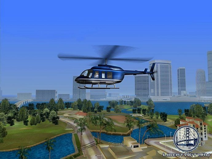 Вертолет в GTA Vice City