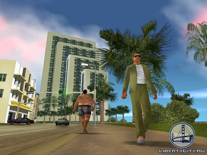 Горожане GTA Vice City