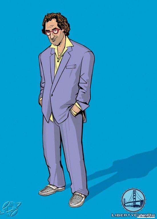 Персонаж из GTA Vice City