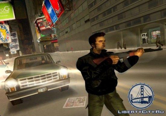 AK-47 в GTA 3