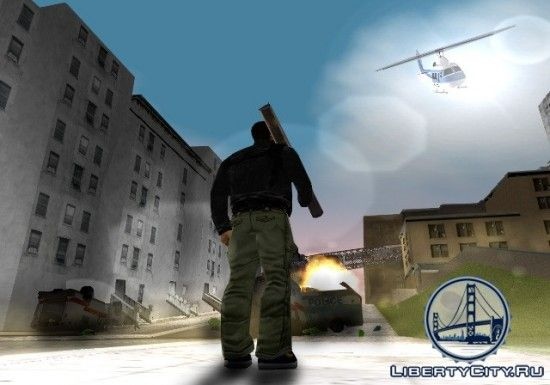 В ожидании вертолета