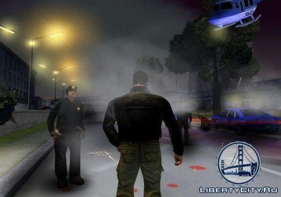 Вертолет в GTA 3
