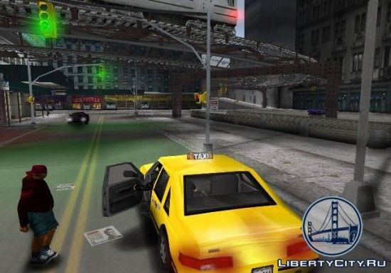 Такси в GTA 3