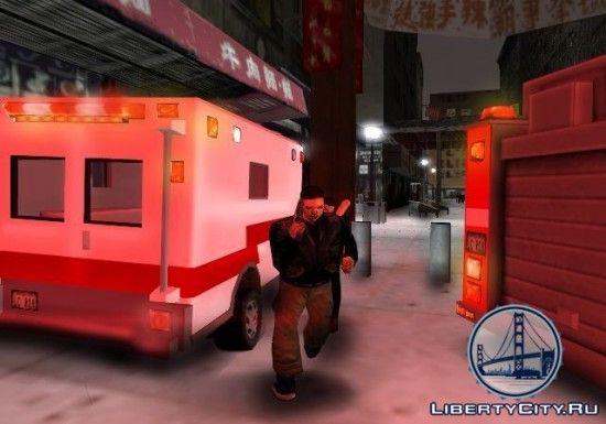 Скорая помощь в GTA 3