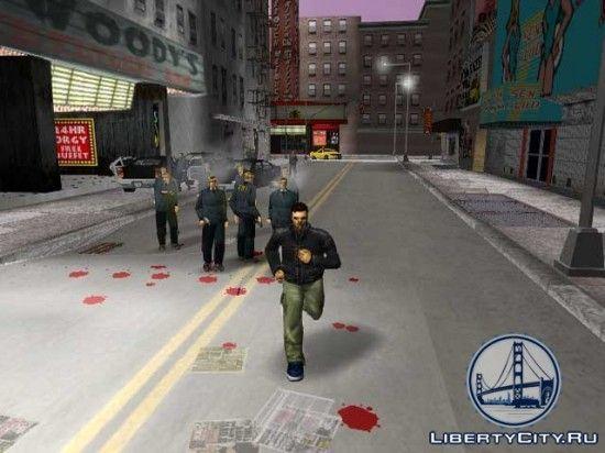 Лужи крови в GTA 3