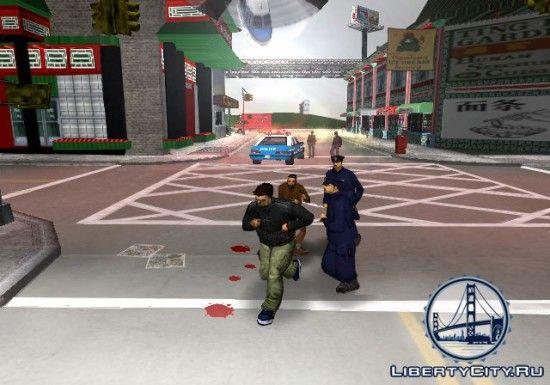 Копы в GTA 3