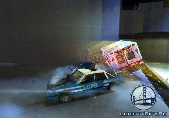 ДТП в GTA 3