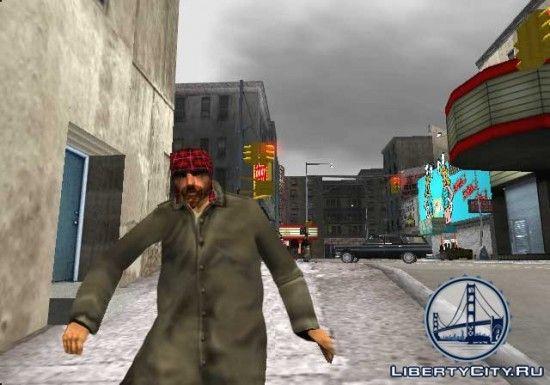 Бомж в GTA 3