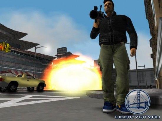 Базука в GTA 3
