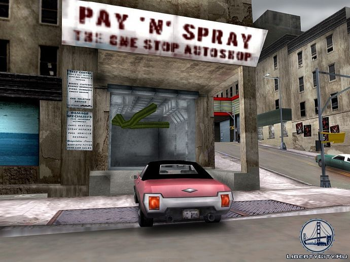 Pay n Spray в GTA 3