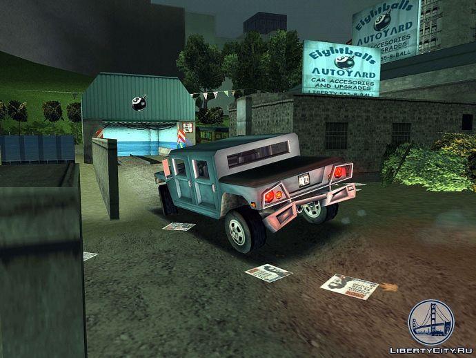 Хаммер в GTA 3